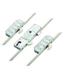 Winkhaus Scorpion Latch, 3 Hooks, Split Spindle, Aluminium Door Version